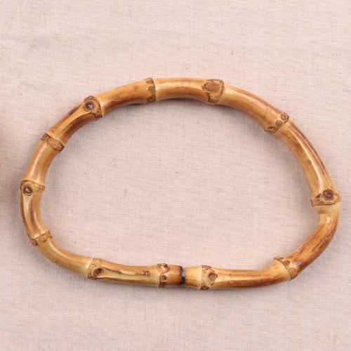 A/1/1) [해피메이드] 타원대나무핸들_16cm_B1600
